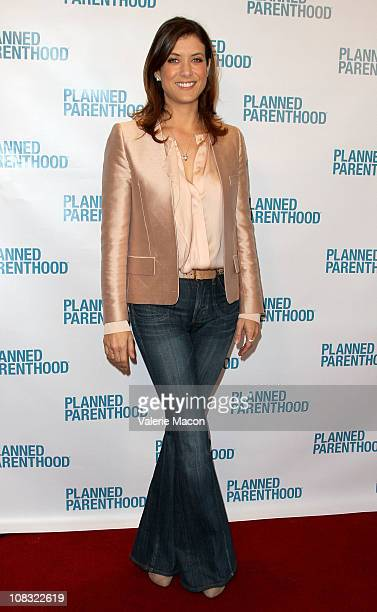 Actress Kate Walsh arrives at 'We've Come A Long Way Maybe' The Pill At 50 And Birth Control Today Entertainment Industry Briefing on January 25 2011...