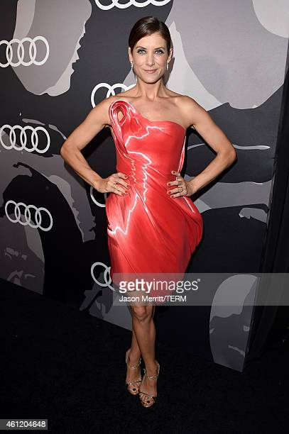 Actress Kate Walsh attends Audi celebrates Golden Globes Week 2015 at Cecconi's Restaurant on January 8 2015 in Los Angeles California