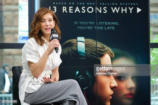 Actress Kate Walsh attends Build presents Kate Walsh discussing the show '13 Reasons Why' at Build Studio on April 24 2017 in New York City