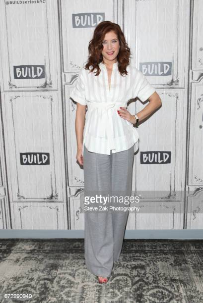 Actress Kate Walsh attends Build Series to discuss her show '13 Reasons Why' at Build Studio on April 24 2017 in New York City