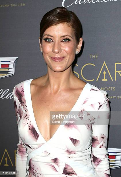 Actress Kate Walsh attends Cadillac's PreOscar Event at Chateau Marmont on February 25 2016 in Los Angeles California