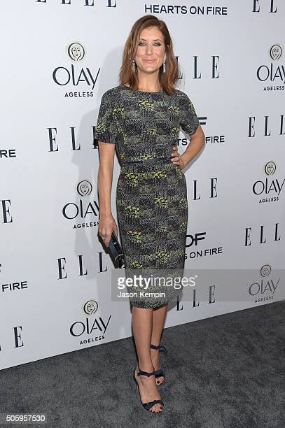 Actress Kate Walsh attends ELLE's 6th Annual Women In Television Dinner at Sunset Tower Hotel on January 20 2016 in West Hollywood California