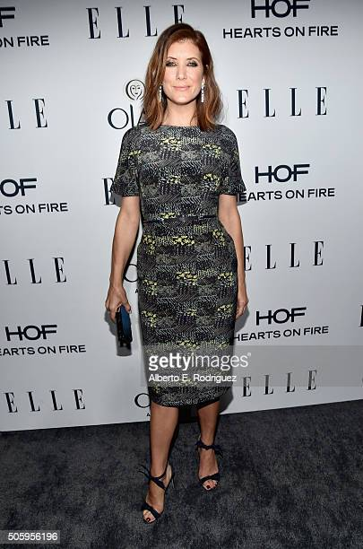 Actress Kate Walsh attends ELLE's 6th Annual Women in Television Dinner Presented by Hearts on Fire Diamonds and Olay at Sunset Tower on January 20...