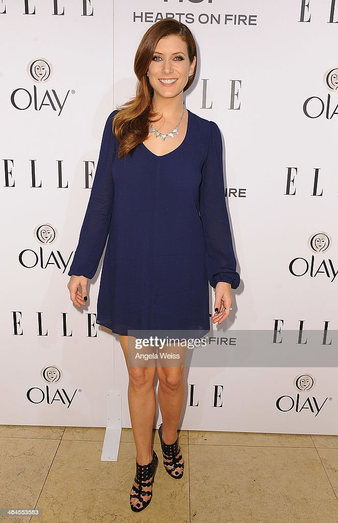 Actress Kate Walsh attends ELLE's Annual Women in Television Celebration at Sunset Tower on January 22, 2014 in West Hollywood, California.