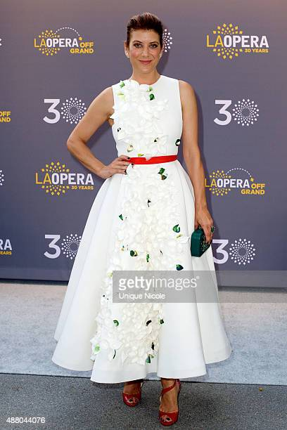 Actress Kate Walsh attends LA Opera's 30th Anniversary Season Opening Night at Dorothy Chandler Pavilion on September 12 2015 in Los Angeles...