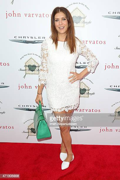 Actress Kate Walsh attends the 12th Annual John Varvatos Stuart House Benefit at John Varvatos on April 26 2015 in Los Angeles California