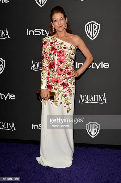 Actress Kate Walsh attends the 16th Annual Warner Bros and InStyle PostGolden Globe Party at The Beverly Hilton Hotel on January 11 2015 in Beverly...