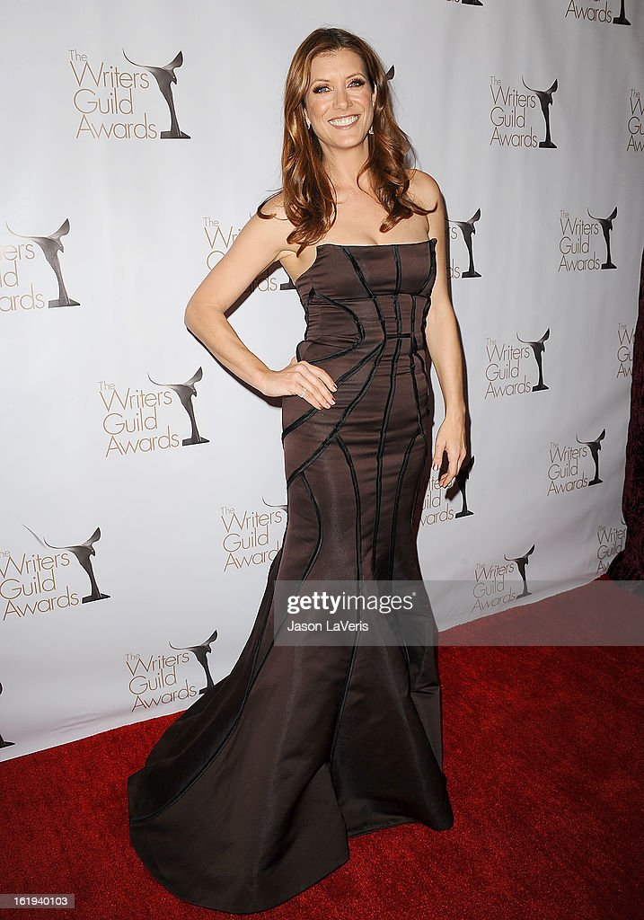 Actress Kate Walsh attends the 2013 Writers Guild Awards at JW Marriott Los Angeles at L.A. LIVE on February 17, 2013 in Los Angeles, California.