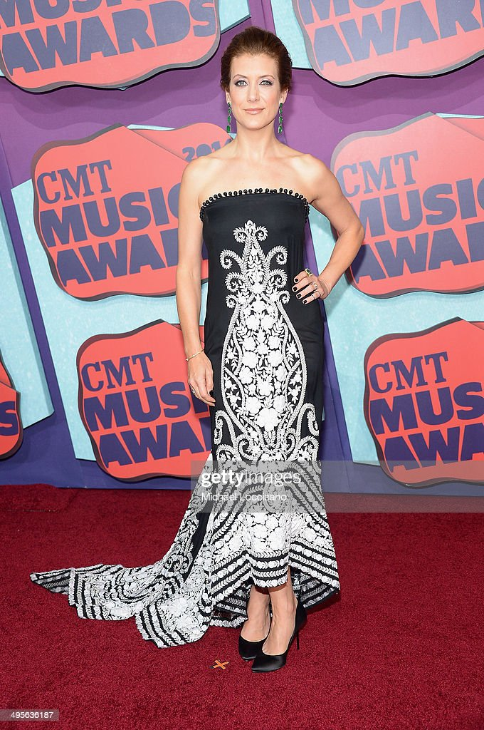Actress Kate Walsh attends the 2014 CMT Music awards at the Bridgestone Arena on June 4, 2014 in Nashville, Tennessee.