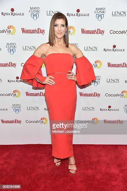 Actress Kate Walsh attends the 2016 Woman's Day Red Dress Awards on February 9 2016 in New York City