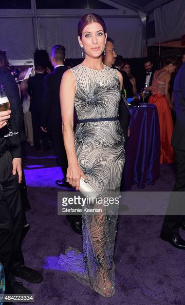 Actress Kate Walsh attends the 23rd Annual Elton John AIDS Foundation Academy Awards viewing party with Chopard on February 22 2015 in Los Angeles...