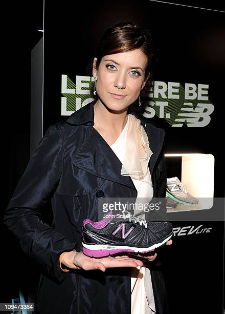 Actress Kate Walsh attends the 26th Spirit Awards official presenter gift lounge produced by On 3 Productions at Santa Monica Beach on February 26...