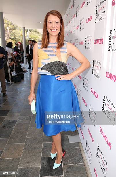 Actress Kate Walsh attends the 4th Annual Women Making History Brunch presented by the National Women's History Museum and Glamour Magazine at...