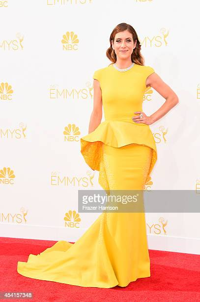 Actress Kate Walsh attends the 66th Annual Primetime Emmy Awards held at Nokia Theatre LA Live on August 25 2014 in Los Angeles California