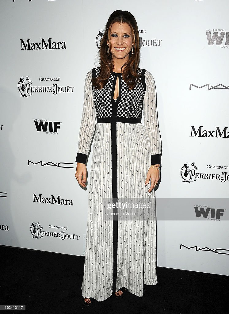 Actress Kate Walsh attends the 6th annual Women In Film pre-Oscar cocktail party at Fig & Olive Melrose Place on February 22, 2013 in West Hollywood, California.