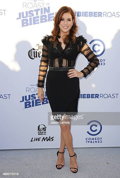 Actress Kate Walsh attends the Comedy Central Roast Of Justin Bieber on March 14 2015 in Los Angeles California