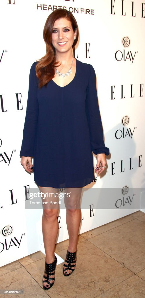 Actress Kate Walsh attends the ELLE Women In Television Celebration held at the Sunset Tower on January 22, 2014 in West Hollywood, California.
