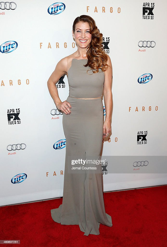 Actress Kate Walsh attends the FX Networks Upfront screening of 'Fargo' at SVA Theater on April 9, 2014 in New York City.