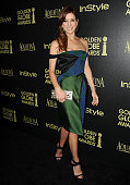 Actress Kate Walsh attends the Hollywood Foreign Press Association and InStyle's celebration of the 2015 Golden Globe award season at Fig Olive...