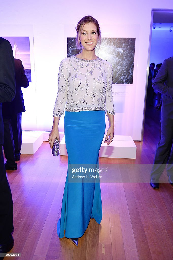 Actress Kate Walsh attends the Inaugural Oceana Ball hosted by Christie's at Christie's on April 8, 2013 in New York City.