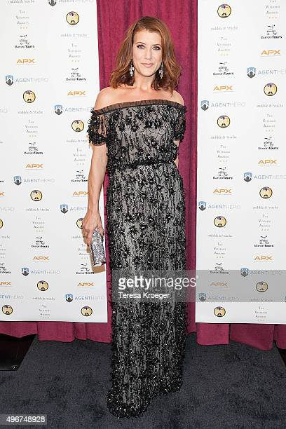 Actress Kate Walsh attends the Inaugural Veterans Awards at George Washington University on November 11 2015 in Washington DC