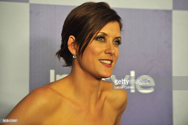 Actress Kate Walsh attends the InStyle and Warner Bros 67th Annual Golden Globes post party held at the Oasis Courtyard at The Beverly Hilton Hotel...