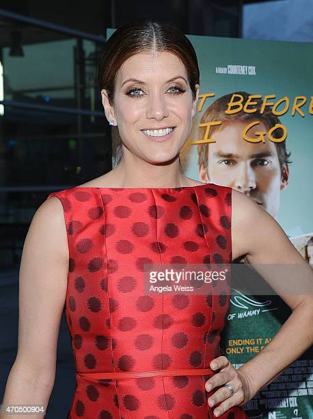 Actress Kate Walsh attends the Los Angeles Special Screening of 'Just Before I Go' at ArcLight Hollywood on April 20 2015 in Hollywood California