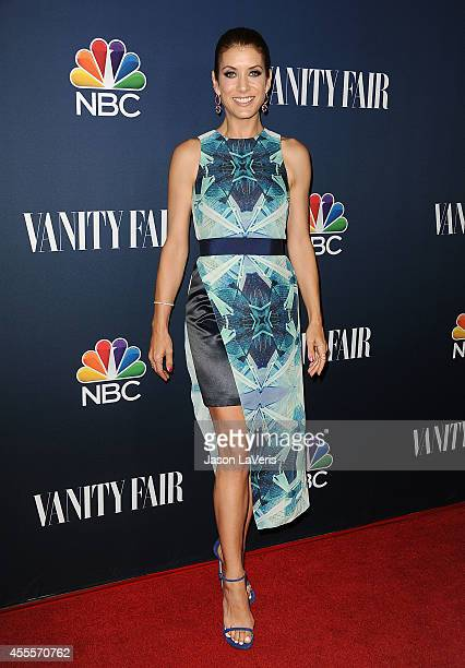 Actress Kate Walsh attends the NBC Vanity Fair 2014 2015 TV season event at HYDE Sunset Kitchen Cocktails on September 16 2014 in West Hollywood...
