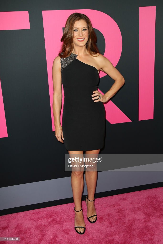 Actress Kate Walsh attends the premiere of Universal Pictures' 'Girls Trip' at Regal LA Live Stadium 14 on July 13, 2017 in Los Angeles, California.