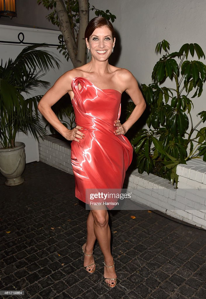 Actress Kate Walsh attends the W Magazine celebration of the 'Best Performances' Portfolio and The Golden Globes with Cadillac and Dom Perignon at Chateau Marmont on January 8, 2015 in Los Angeles, California.