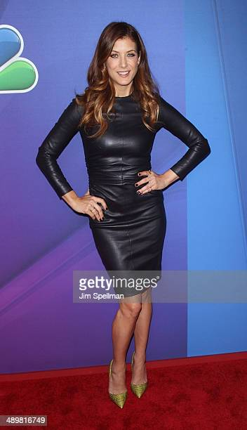 Actress Kate Walsh from ' Bad Judge' attends the 2014 NBC Upfront Presentation at The Jacob K Javits Convention Center on May 12 2014 in New York City