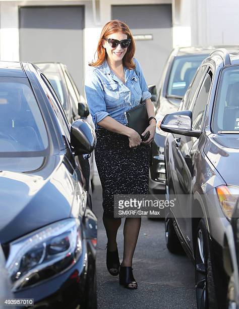 Actress Kate Walsh is seen on October 23 2015 in Los Angeles California