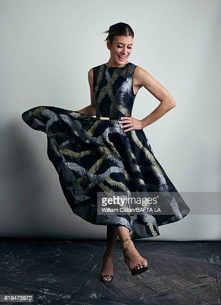 Actress Kate Walsh poses for a portrait BBC America BAFTA Los Angeles TV Tea Party 2016 at the The London Hotel on September 17 2016 in West...