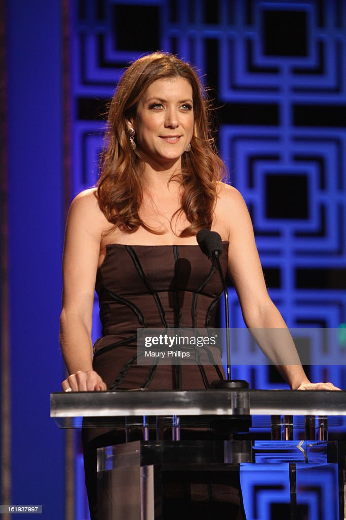 Actress Kate Walsh speaks onstage during the 2013 WGAw Writers Guild Awards at JW Marriott Los Angeles at L.A. LIVE on February 17, 2013 in Los Angeles, California.
