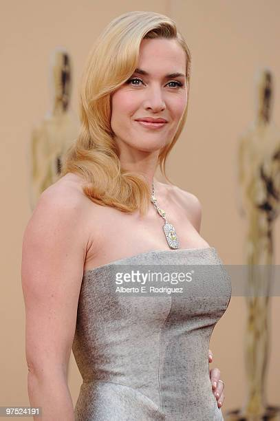 Actress Kate Winslet arrives at the 82nd Annual Academy Awards held at Kodak Theatre on March 7 2010 in Hollywood California