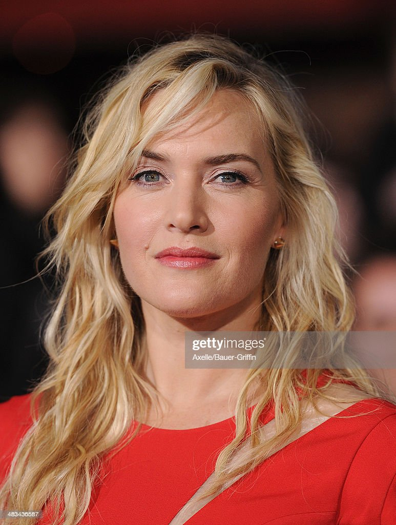 Actress <a gi-track='captionPersonalityLinkClicked' href=/galleries/search?phrase=Kate+Winslet&family=editorial&specificpeople=201923 ng-click='$event.stopPropagation()'>Kate Winslet</a> arrives at the Los Angeles Premiere of 'Divergent' at Regency Bruin Theatre on March 18, 2014 in Los Angeles, California.