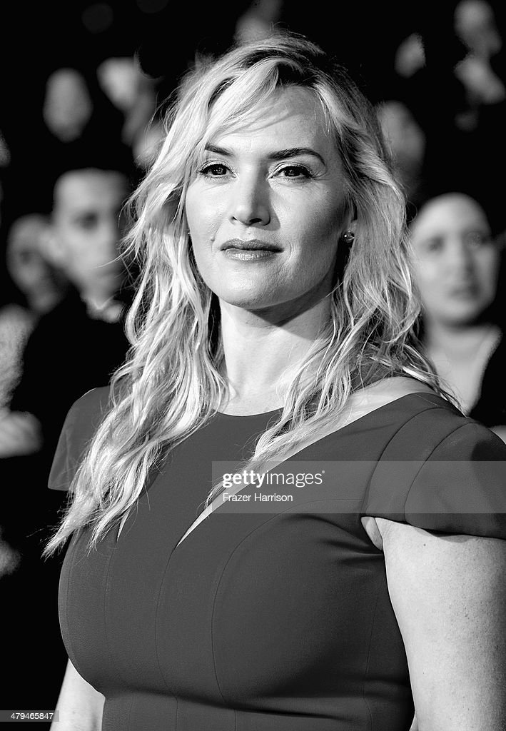 . Actress <a gi-track='captionPersonalityLinkClicked' href=/galleries/search?phrase=Kate+Winslet&family=editorial&specificpeople=201923 ng-click='$event.stopPropagation()'>Kate Winslet</a> arrives at the premiere Of Summit Entertainment's 'Divergent' at Regency Bruin Theatre on March 18, 2014 in Los Angeles, California.