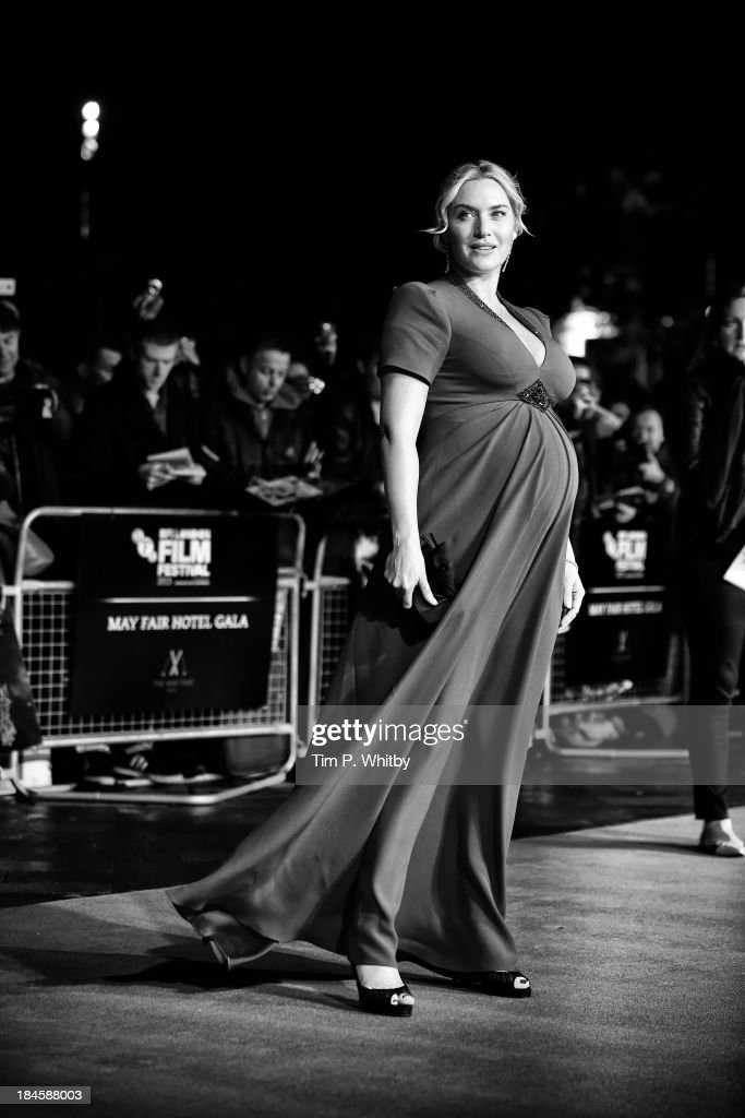Actress <a gi-track='captionPersonalityLinkClicked' href=/galleries/search?phrase=Kate+Winslet&family=editorial&specificpeople=201923 ng-click='$event.stopPropagation()'>Kate Winslet</a> attends a screening of 'Labor Day' during the 57th BFI London Film Festival at Odeon, Leicester Square on October 13, 2013 in London, England.