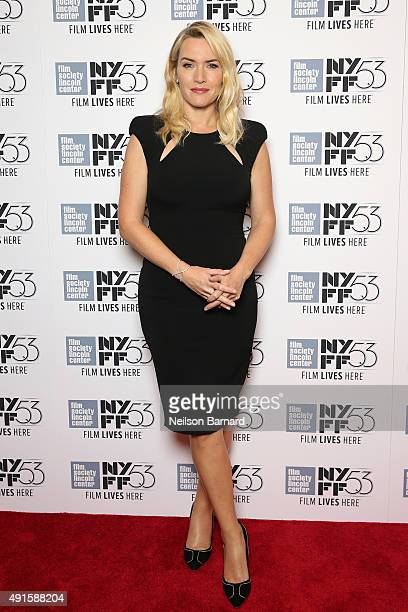 Actress Kate Winslet attends An Evening with Kate Winslet during the 53rd New York Film Festival at Stanley Kaplan Penthouse on October 6 2015 in New...