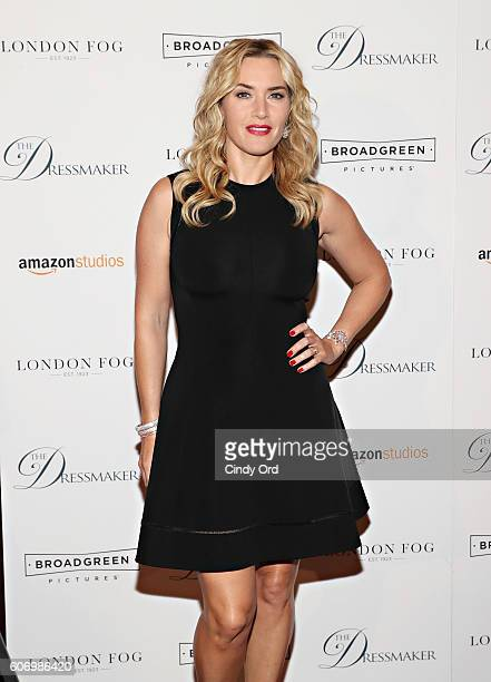 Actress Kate Winslet attends as London Fog presents a New York special screening of 'The Dressmaker' on September 16 2016 in New York City
