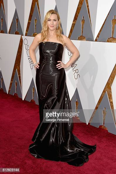 Actress Kate Winslet attends the 88th Annual Academy Awards at Hollywood Highland Center on February 28 2016 in Hollywood California