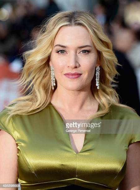Actress Kate Winslet attends the 'A Little Chaos' premiere during the 2014 Toronto International Film Festival at Roy Thomson Hall on September 13...