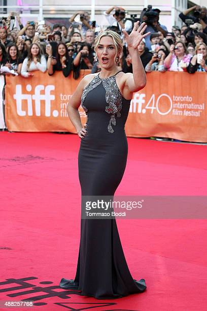 Actress Kate Winslet attends 'The Dressmaker' Premiere during the 2015 Toronto International Film Festival held at Roy Thomson Hall on September 14...