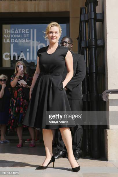 Actress Kate Winslet attends the Giorgio Armani Prive fashion show during Haute Couture Fall/Winter 20172018 on July 4 2017 in Paris France