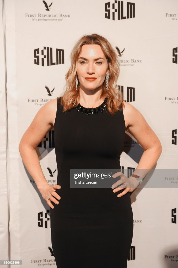 Actress Kate Winslet attends the SFFILM's 60th Anniversary Awards Night at Palace of Fine Arts Theatre on December 5, 2017 in San Francisco, California.