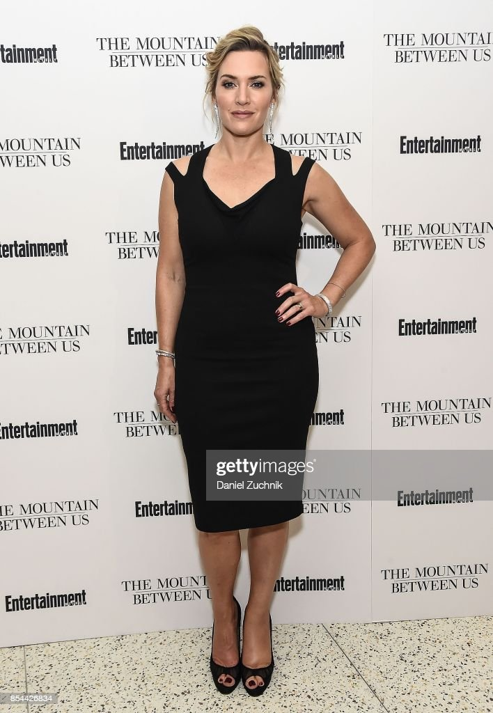 Actress Kate Winslet attends the special screening of 'The Mountain Between Us' at Time Inc. Screening Room on September 26, 2017 in New York City.