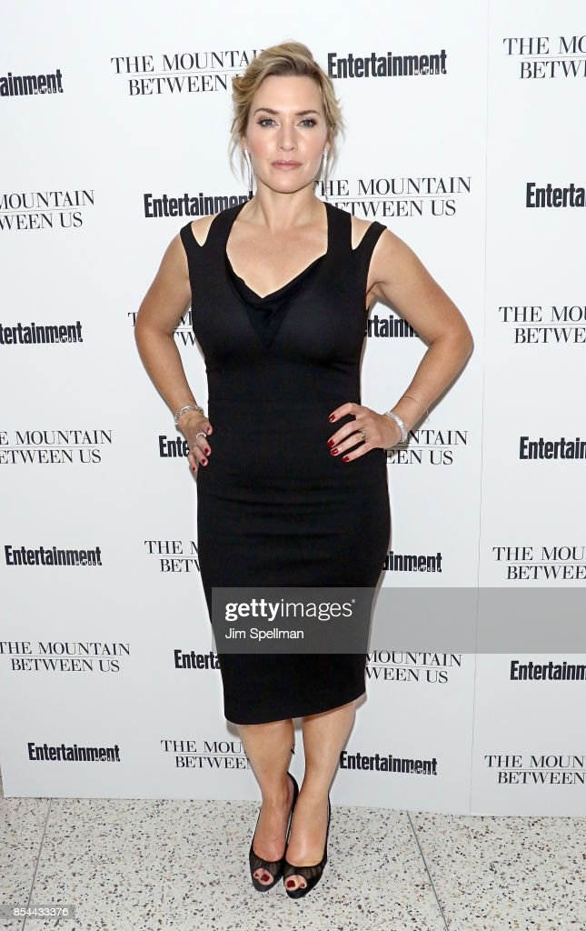 Actress Kate Winslet attends the 'The Mountain Between Us' special screening at Time Inc. Screening Room on September 26, 2017 in New York City.