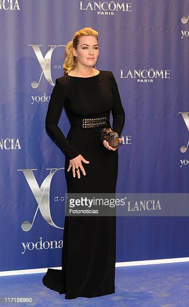Actress Kate Winslet attends 'Yo Dona Awards 2011' at the Invernadero de Arganzuela on June 21 2011 in Madrid Spain