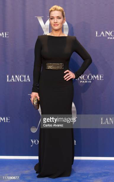 Actress Kate Winslet attends 'Yo Dona' International Awards 2001 at the Palacio de Cristal de Arganzuela on June 21 2011 in Madrid Spain