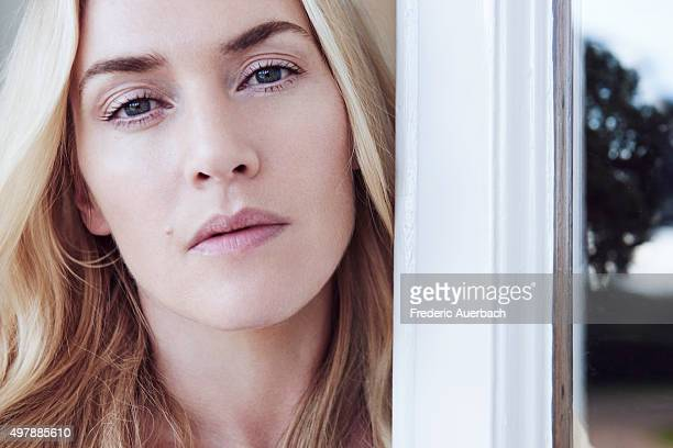 Actress Kate Winslet is photographed for Los Angeles Confidential on September 17 2015 in Los Angeles California ON DOMESTIC EMBARGO UNTIL FEBRUARY 1...